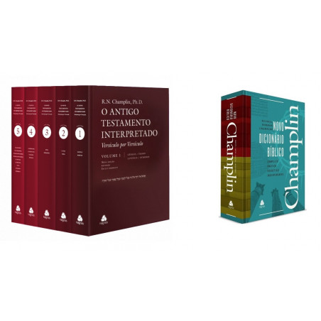 Kit Champlin AT + Dicionário