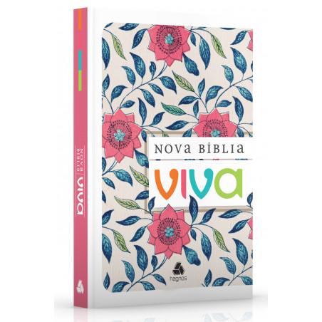 Nova Bíblia Viva - Floral